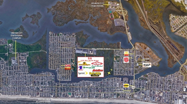 Listing Image #1 - Retail for lease at 5100 Wellington Avenue, Ventnor City NJ 08406