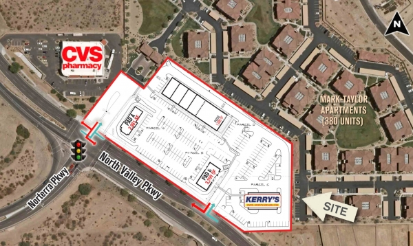 Listing Image #1 - Retail for lease at 28635 North North Valley Parkway, Phoenix AZ 85085