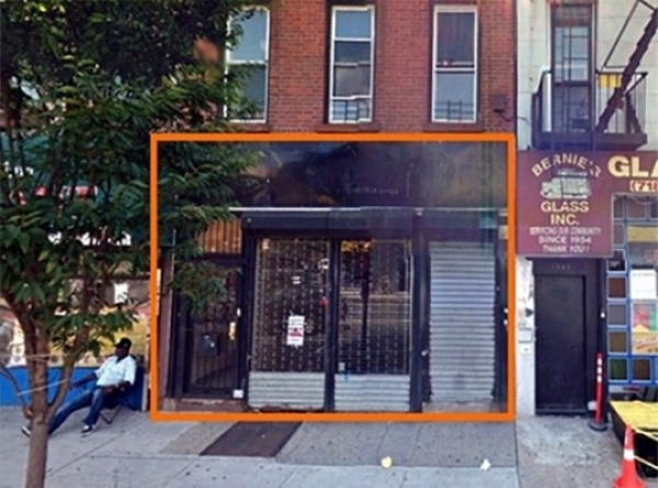 Listing Image #1 - Retail for lease at 1556 Fulton St, Brooklyn NY 11216