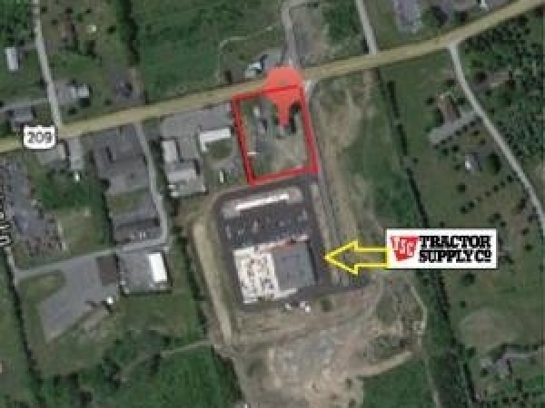 Listing Image #1 - Land for lease at 106 S. New Brodheadsville Blvd., Brodheadsville PA 18322