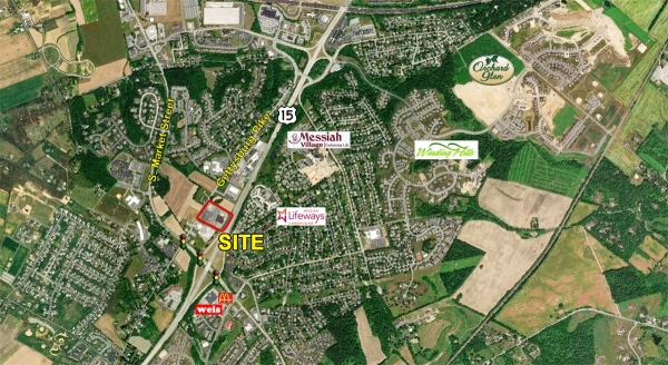 Listing Image #1 - Shopping Center for lease at 121 Gettysburg Pike, Mechanicsburg PA 17055