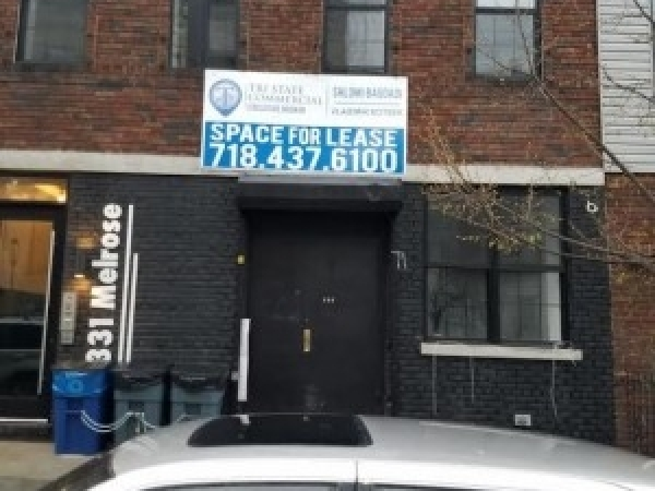 Listing Image #1 - Retail for lease at 331 Melrose Street, Brooklyn NY 11237