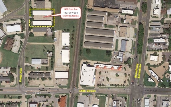 Listing Image #1 - Industrial for lease at 1408 s Fretz, Edmond OK 73003