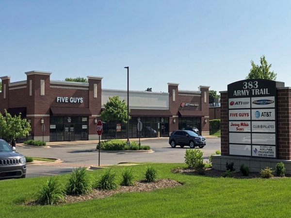 Listing Image #1 - Retail for lease at 383 Army Trail Rd, Bloomingdale IL 60108