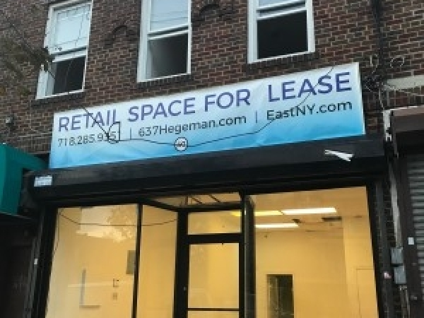 Listing Image #1 - Retail for lease at 637 Hegeman Avenue, Brooklyn NY 11207