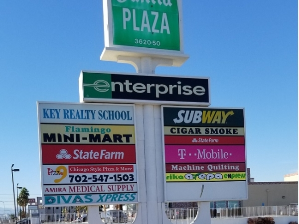 Listing Image #1 - Retail for lease at 3620 E Flamingo Rd, Las Vegas NV 89121