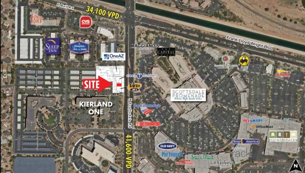 Listing Image #1 - Retail for lease at NWC 71st Street & Scottsdale Road, Scottsdale AZ 85254