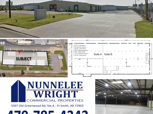 Listing Image #1 - Industrial for lease at 810 South 28th Street, Van Buren AR 72956