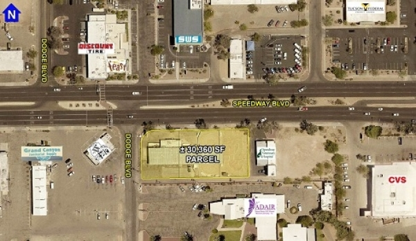 Listing Image #1 - Retail for lease at 3700 E. Speedway Blvd. - Speedway & Dodge, Tucson AZ 85713