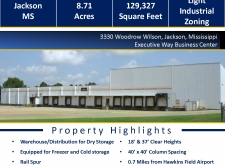Industrial property for lease in Jackson, MS