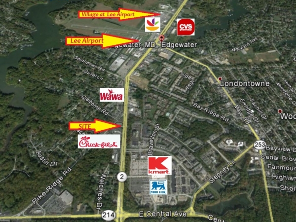Listing Image #1 - Retail for lease at 3200 Solomons Island Rd, Edgewater MD 21037-1704