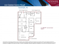 Listing Image #2 - Health Care for lease at 121 Center Grove Rd., Randolph NJ 07869