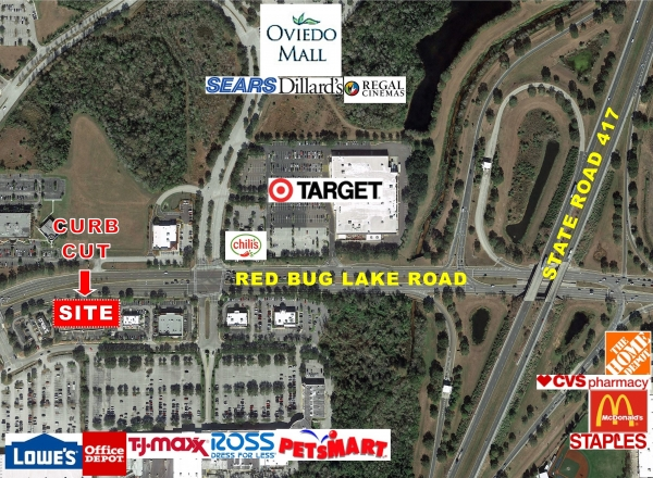 Listing Image #1 - Shopping Center for lease at 8085 Red Bug Lake Road, Oviedo FL 32765