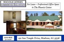 Office property for lease in Madison, AL