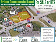 Land for lease in Castle Rock, CO