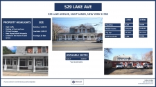 Retail for lease in Saint James, NY