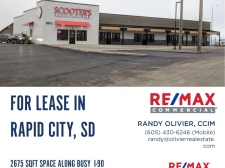 Retail for lease in Rapid City, SD