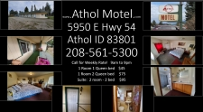 Motel property for lease in Athol, ID
