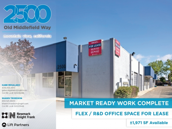 Listing Image #1 - Industrial for lease at 2500 Old Middlefield Rd, Mountain View CA 94043