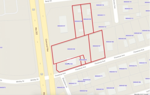 Listing Image #1 - Land for sale at 3507 Concord Pike, Wilmington DE 19802