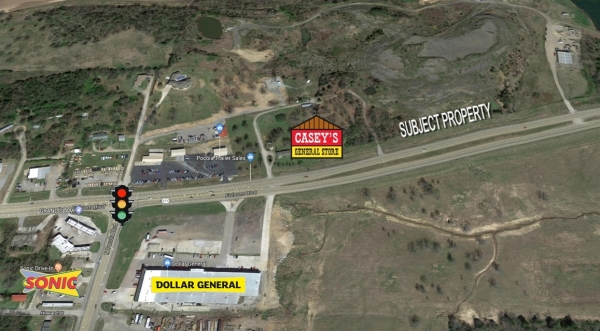 Listing Image #1 - Land for sale at 1 Folsom Blvd, Pocola OK 74902