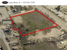 Land for sale in Lewisville, TX