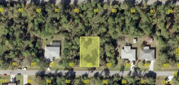 Listing Image #2 - Land for sale at 23422 MCCANDLESS AVENUE, PORT CHARLOTTE FL 33980