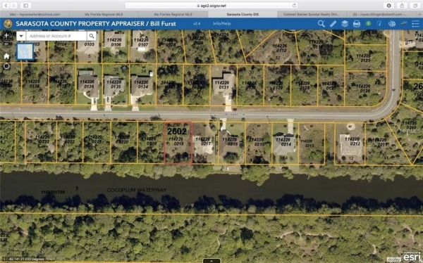 Listing Image #1 - Land for sale at ORCHARD CIRCLE, NORTH PORT FL 34288
