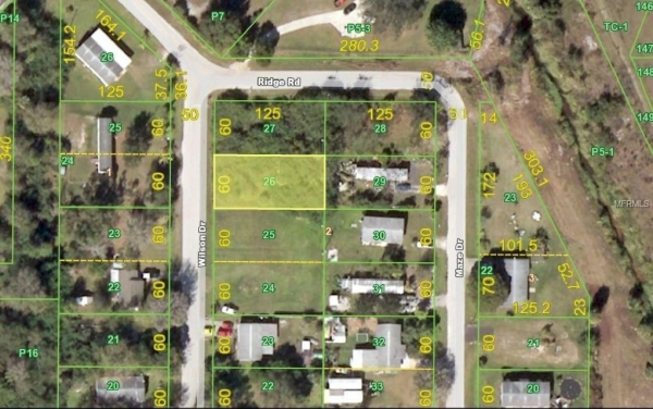 Listing Image #1 - Land for sale at 5390 WILSON DRIVE, PUNTA GORDA FL 33982