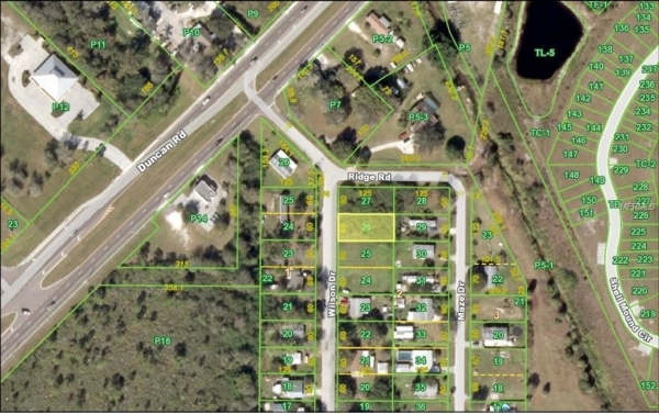 Listing Image #2 - Land for sale at 5390 WILSON DRIVE, PUNTA GORDA FL 33982