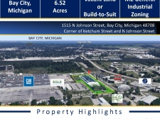 Industrial property for sale in Bay City, MI