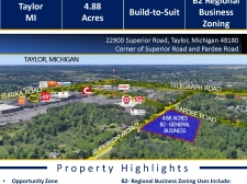 Retail for sale in Taylor, MI