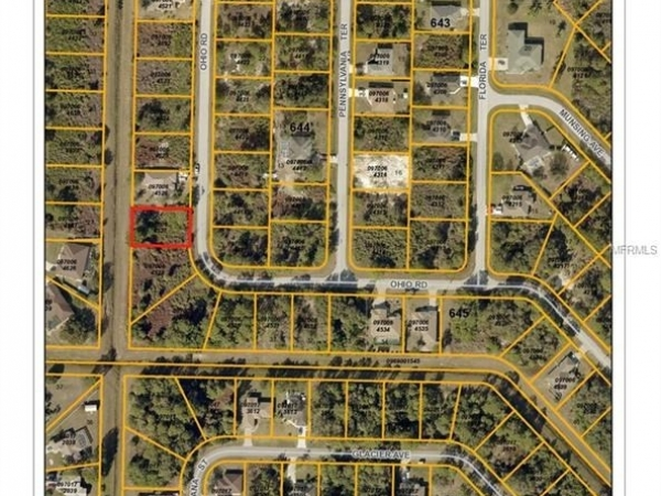 Listing Image #1 - Land for sale at OHIO ROAD, NORTH PORT FL 34291