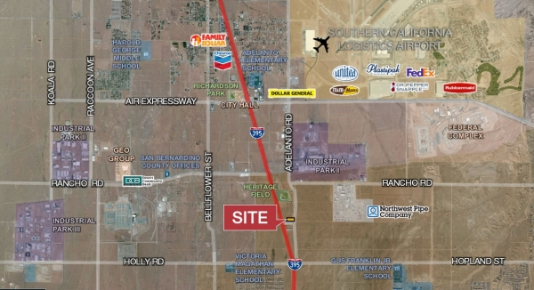 Listing Image #1 - Land for sale at 0 Adelanto Road, Adelanto CA 92301