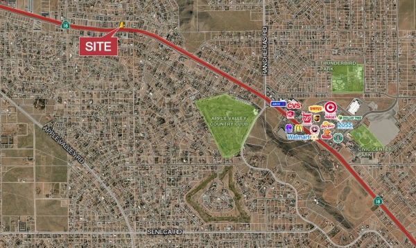 Listing Image #1 - Land for sale at Outer Highway 18, Apple Valley CA 92308