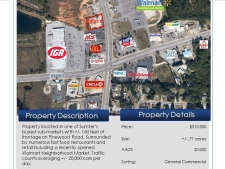 Land for sale in Sumter, SC