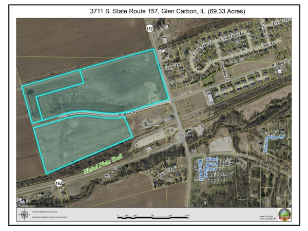 Listing Image #1 - Land for sale at 3711 South State Route 157, Glen Carbon IL 62034