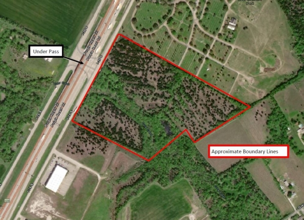 Listing Image #1 - Land for sale at IH 35 Northbound Frontage Road, Robinson TX 76706
