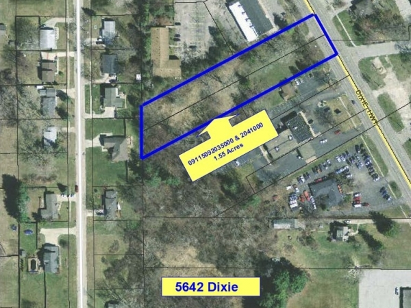 Listing Image #1 - Land for sale at 5642 Dixie Highway, Bridgeport MI 48722