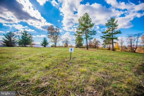 Listing Image #1 - Land for sale at LOT Lot 5 Highland Ridge Road, Berkeley Springs WV 25411