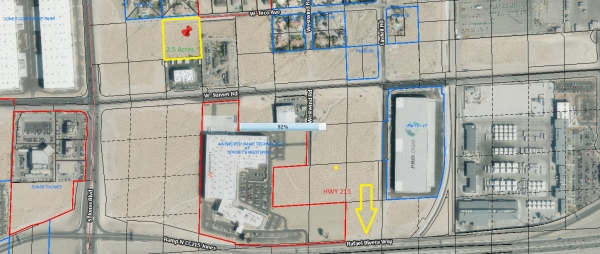 Listing Image #1 - Land for sale at South Jones & Teco Ave. Close to 215 Beltway., Las Vegas NV 89118