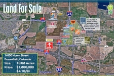 Listing Image #1 - Land for sale at 16150 Huron Street, Broomfield CO 80023