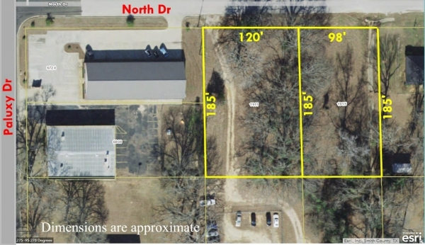 Listing Image #1 - Land for sale at 1911 North Dr, Tyler TX 75703