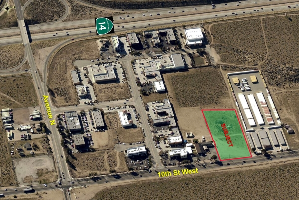 Listing Image #1 - Land for sale at SWC of 10th St West & Ave M-12, Palmdale CA 93551