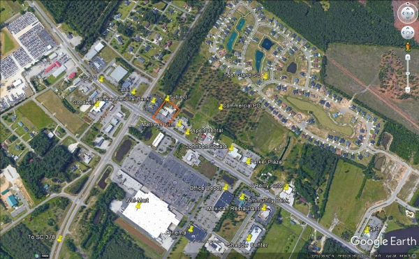 Listing Image #1 - Land for sale at 2780 Church St., Conway SC 29526