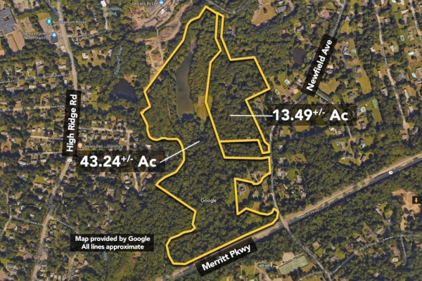 Listing Image #1 - Land for sale at 1752 & 1758 Newfield Avenue & 1708 Newfield Ave, Stamford CT 06903