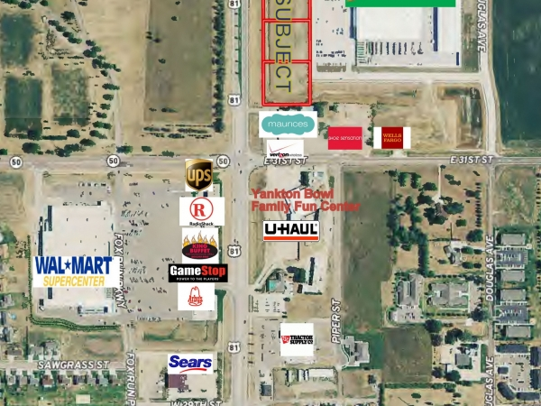 Listing Image #1 - Land for sale at Broadway Avenue, Yankton SD 57078
