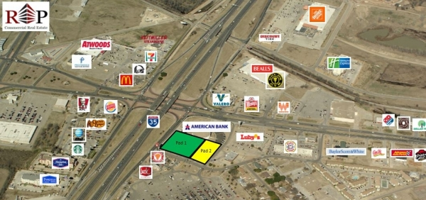 Listing Image #1 - Land for sale at 1601 N Interstate 35 Frontage Road, Waco TX 76705