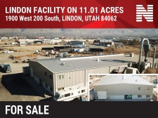 Industrial property for sale in Lindon, UT