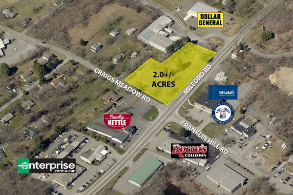 Listing Image #1 - Land for sale at Milford Rd and Craigs Meadow Rd, East Stroudsburg PA 18301